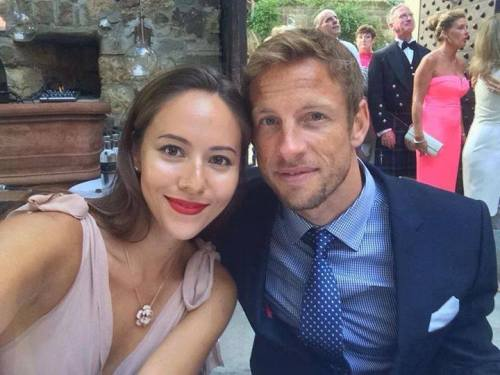 teamjensonbutton:  Jenson and Jessica - Laura & Paul di Resta's wedding