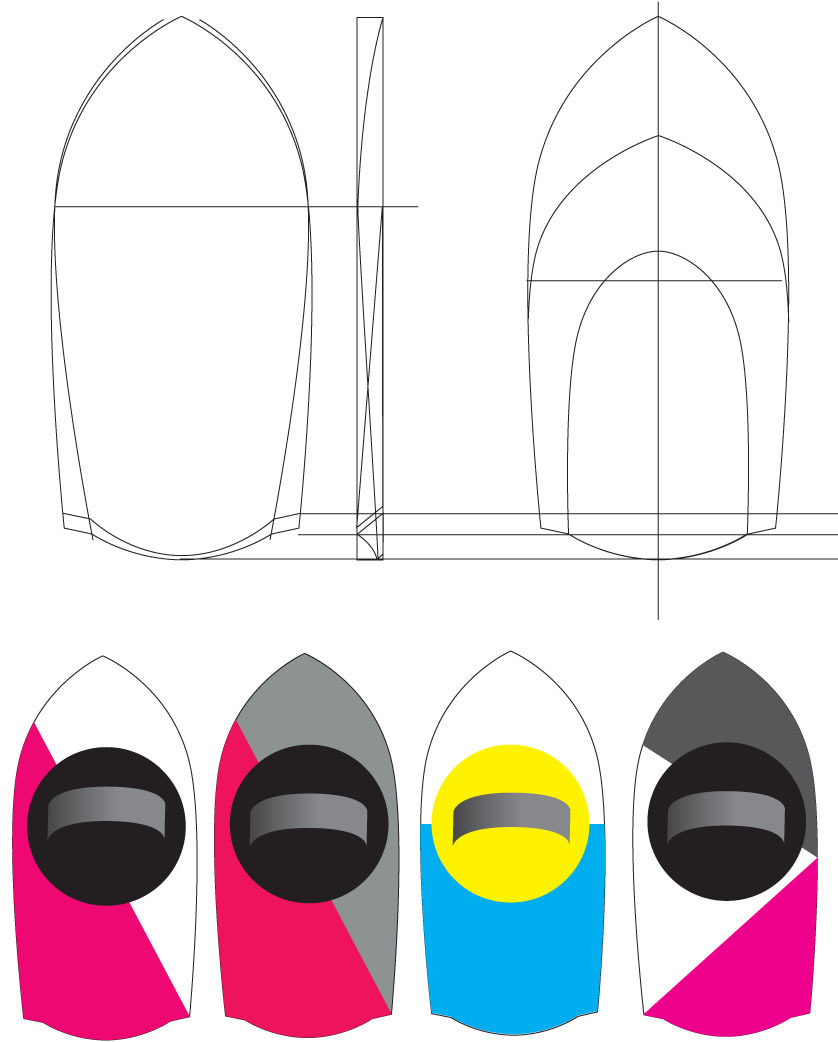 Handplane paint ideas.