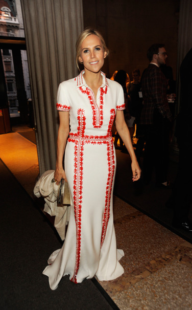 vogue:  Tory Burch in Tory Burch Photo: Rabbani and Solimene/Getty Images Vote for your favorite ten best dressed woman of the week here.