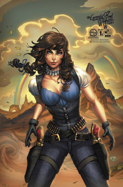 comicsodissey:LEGEND OF OZ: THE WICKED WEST #1