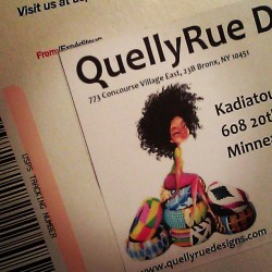 Coming home to find love from the mail box!!!!! #quellyruedesigns #Ghana #love #gifts #NYC #allthingsafro