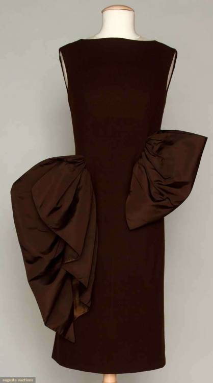 Cocktail Dress Pauline Trigère, 1955 Augusta Auctions