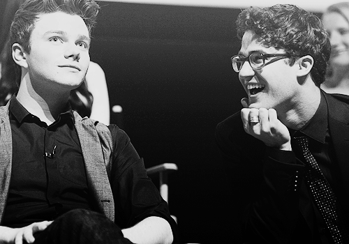 "crisscolfer-blackandwhite:  ""It's magical."""