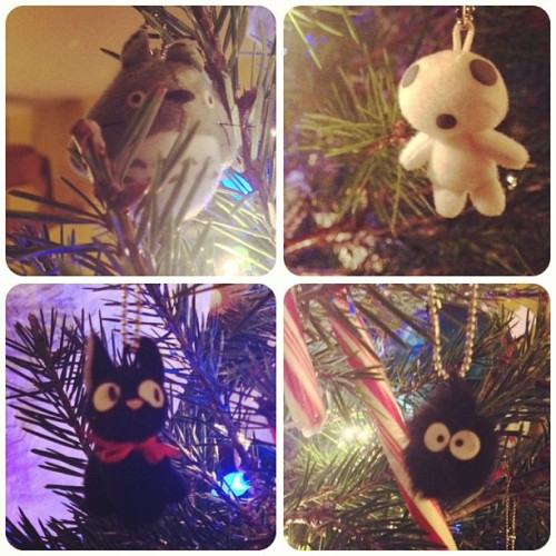 deery:  #Ghibli / #Miyazaki Christmas tree ornaments!  these are so かわいい!!!i want them ^_^
