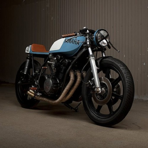 #inspiration #yamaha #cafe #caferacer #matte #custom #motorcycle