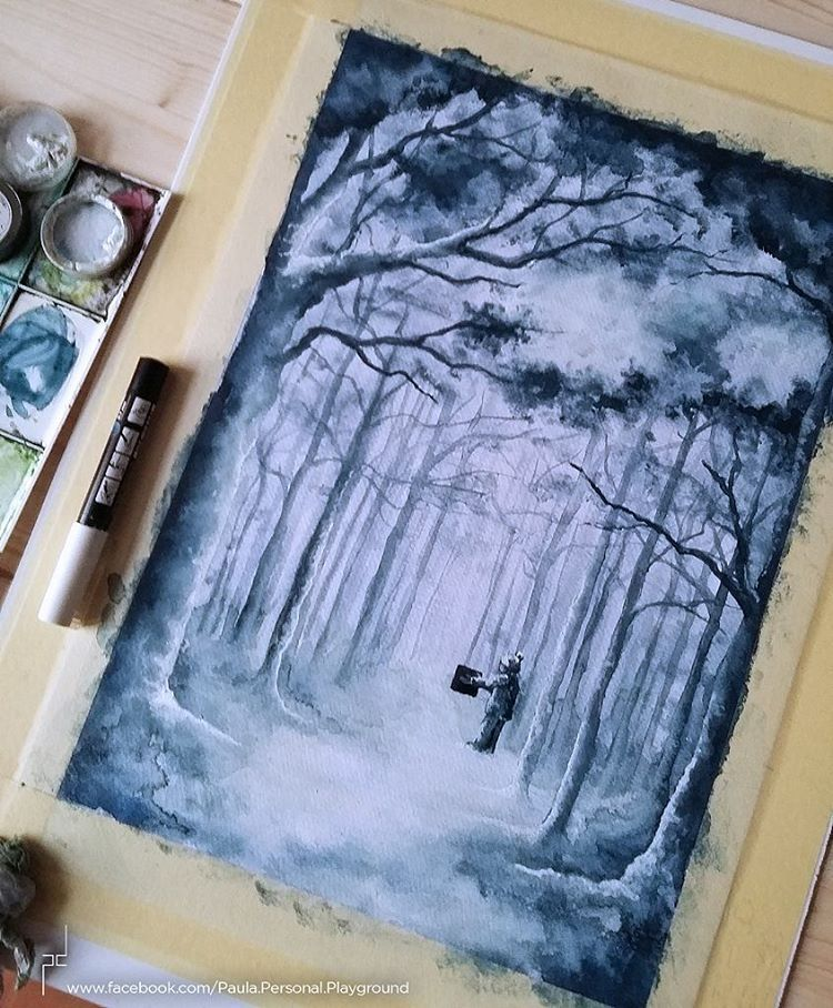 Time to add some magic and snow. :)