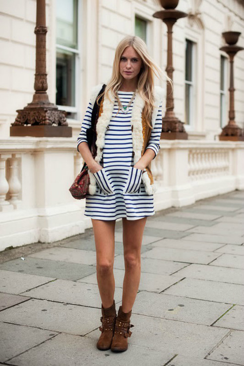 what-id-wear:  (street style : Poppy Delegvine )