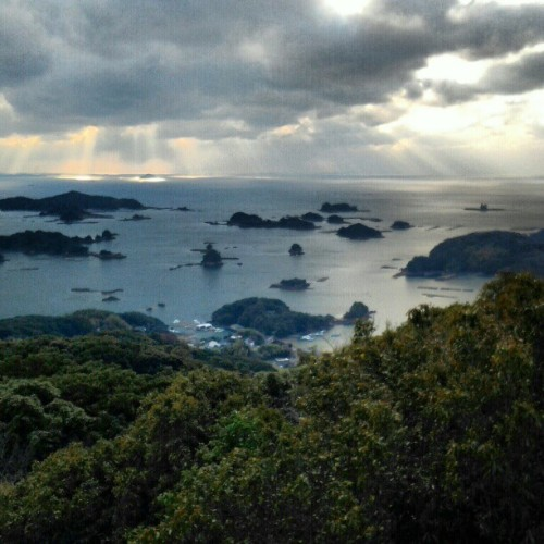 Ended 2012 with a reflective view of #Kujukushima #islands in #Japan. Felt both familiar & foreign to be back in Japan after 7 years of bring away. It was also nice to be reintroduced to my city of birth, where I haven't been since I was very young!