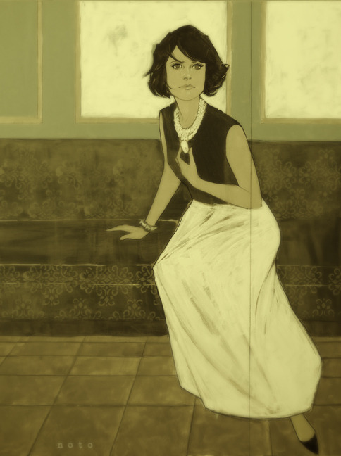 philnoto:  Back to the Old House  Makes me think of Parker Posey and Mary Tyler Moore.