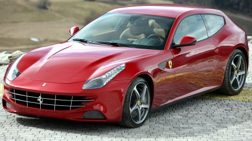 Ferrari FF in cool view on hd wallpapers backgrounds