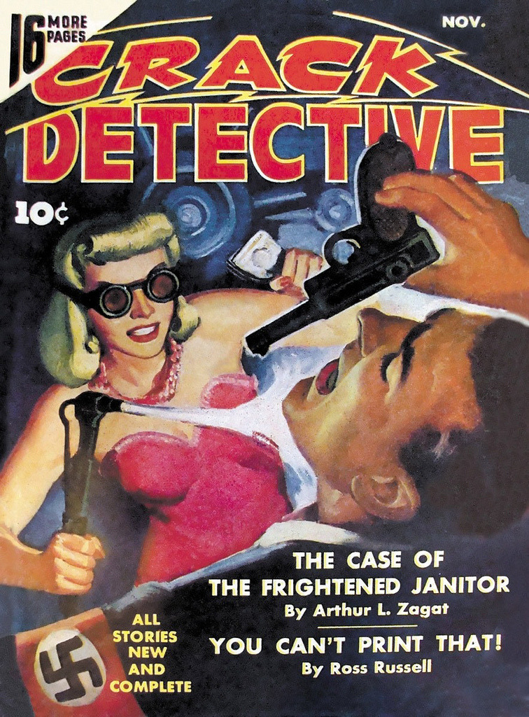vintagecoolillustrated:  Crack Detective 1942
