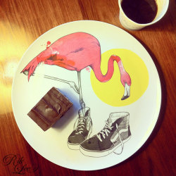 I recently collaborated with Melbourne Co, Douglas & Hope on some plate designs. I'm really happy with the result and have a very limited edition run of 26, hand signed and numbered, available now at my online store. $25 a pop. Chocolate brownie and coffee sold separately.x www.riklee.bigcartel.com