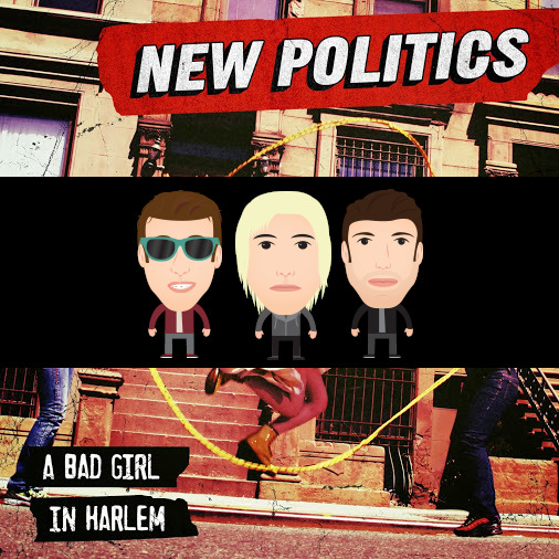 "At 3:30ET, New Politics is hosting ""A Bad Girl In Harlem"" release party in http://bit.ly/i_w_y_w! Come hang with the band chat about their sophomore album."