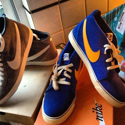 Ahh which ones do I get?!? #nike #blazers #nikebkazers #hitops #cant #decide #decisions #shoes