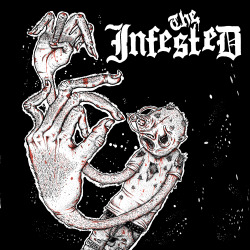 Front cover of The Infested's up and coming album!!