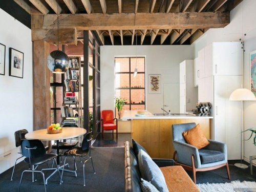 Little loft living