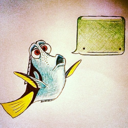 Just to make this day feel a little less like death. #techweek #dory #ispeakwhale