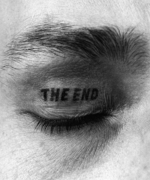 narobe:  pikeys: The End (Detail), 1981-1997 by Timm Ulrichs