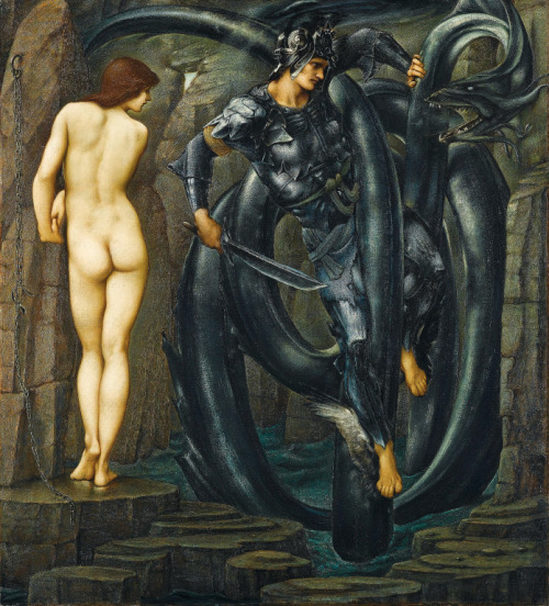 centuriespast:  Edward Burne-Jones, The Doom Fulfilled, 1885-1888 Staatsgalerie Stuttgart