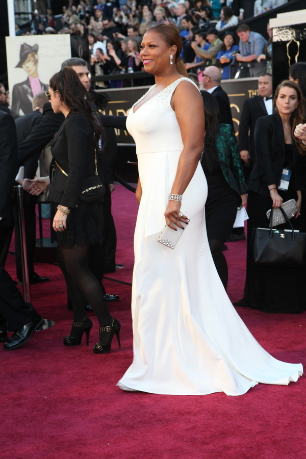 The Oscars Red Carpet 2013: Queen Latifah. Photo: New York Times.