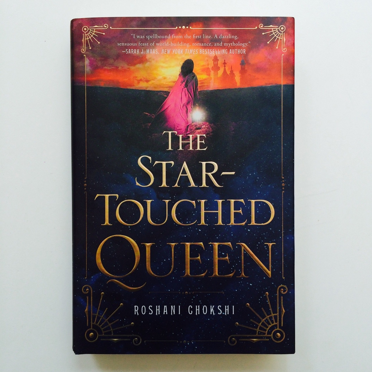 THE STAR-TOUCHED QUEEN by Roshani Chokshi -