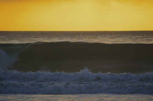 Nice wave at South Carlsbad State Beach.