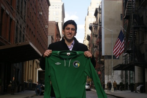 Alecko Eskandarian joins the Cosmos as an assistant coach.
