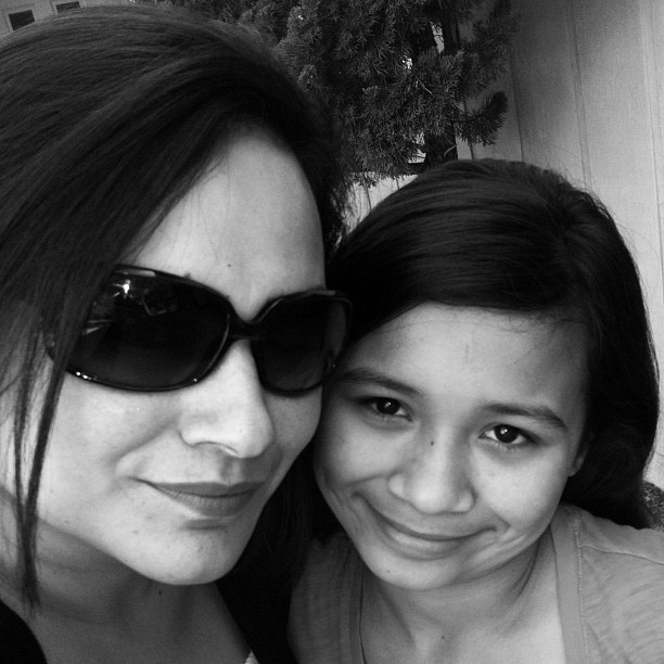 ME AND MOMMY YAH !!!!!!!!!!!!!! <3