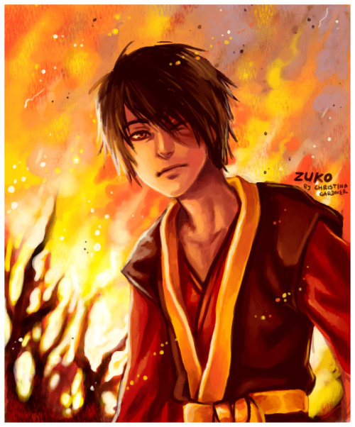 unquestionablehonor:  Heated Zuko by ~curry23