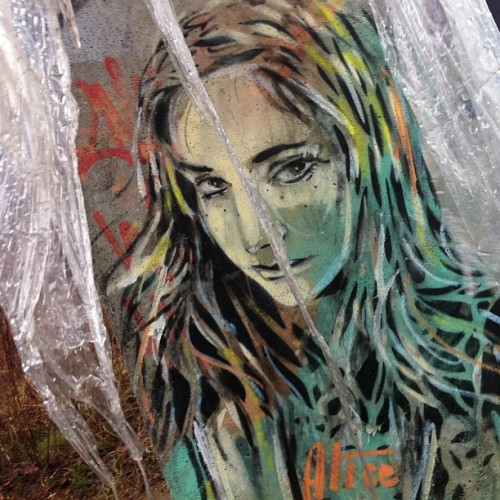 ewajaski:  by #AlicePasquini at #Berghaim #Berlin