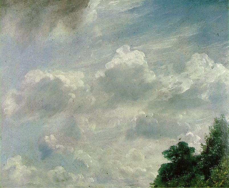 Study of Clouds at Hampstead, 1821, John Constable