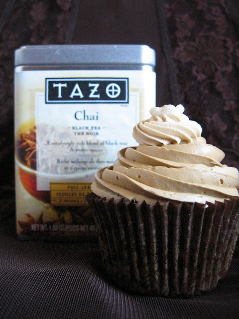 enchanting-autumn:  Chai Tea Cupcakes by jennyvier on Flickr.