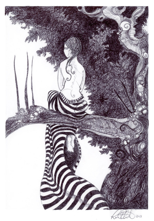 2headedsnake:  Laura Pelick 'The Thinking Tree'