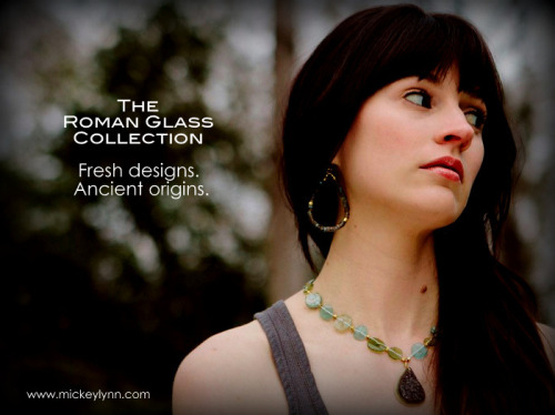 The Ancient Roman Glass Statement Necklace. Have you checked out our latest collection yet? Find it here »http://bit.ly/YOQpwm