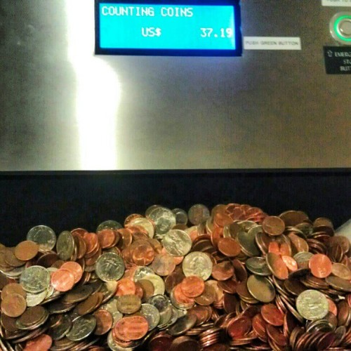 softreflections:  And counting…… #toomuch #no #goodness #money #coins