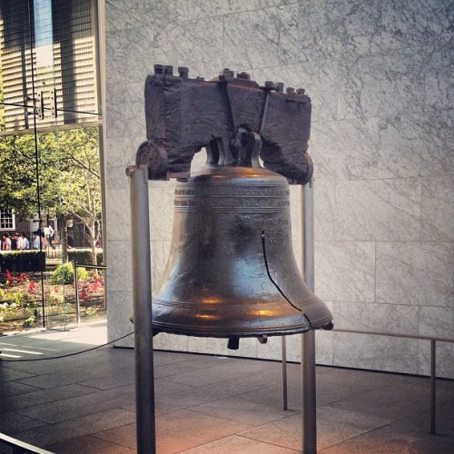 Liberty bell with @zzarrillo(at Liberty Bell Center)