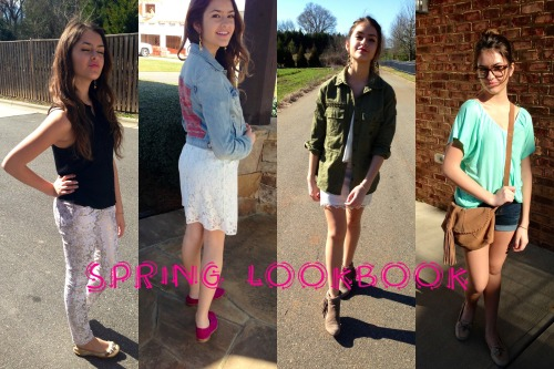 MADE A SPRING LOOKBOOK VIDEO :) EVERYONE GO CHECK IT OUT AND DONT FORGET TO ENTER IN MY GIVEAWAY!!!