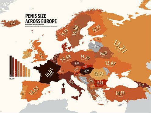 oswiecony:  Map of the length of the penis in Europe. Tantra  is the best way of live! Tantryczny  more about it Seks poranny More about morning seks: For some, it's only a way to seks in relationship. Because morning testosterone levels in your body is the highest. Thus, you have at morning a most powerful erection.