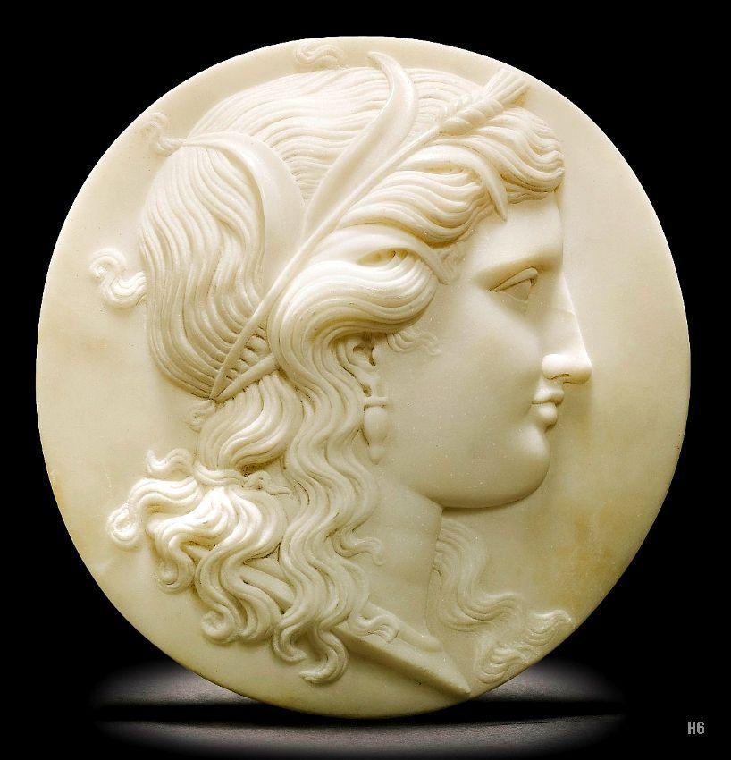 Flora. 19th.century. Maria Elisa Pistrucci. British. 1824-1881. marble. http://hadrian6.tumblr.com