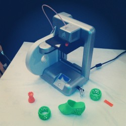 Tech that will change the world - affordable #3Dprinting (at Fairmont, Bab Al Bahr)