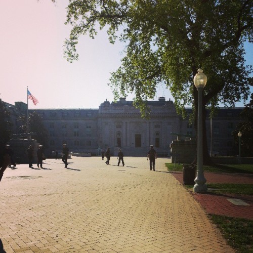 I could definitely get used to this place #usna #cvw (at United States Naval Academy)