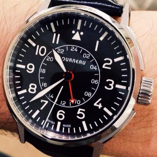 "gqfashion:  ""Torneau, always top notch time keepers."" - @tedstaffordgq #WatchWednesday  amazing watch. wow"