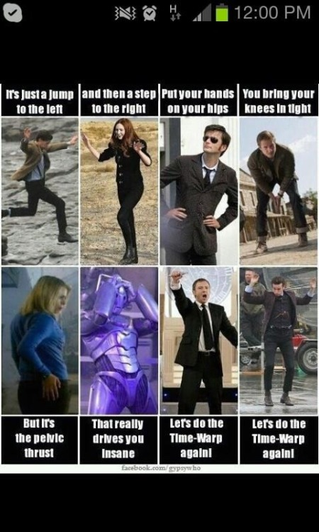 rainbowsandqueershine:  Time warp + Dr Who = best combination ever!!