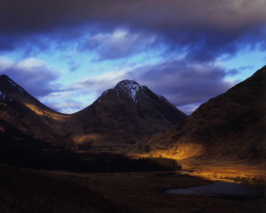 definitelydope:  Glen Etive March 2013 (by michael prince)