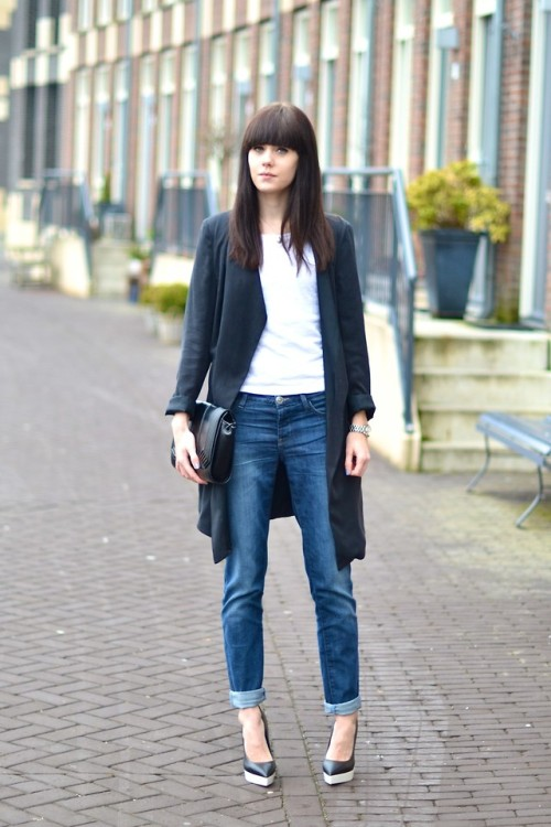 lookbookdotnu:  Boyfriend jeans - Part 5 (by Lucy De B.)