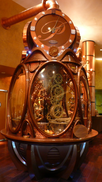 steampunktendencies:  The chocolate clock - Payard Patisserie - Caesar's Palace