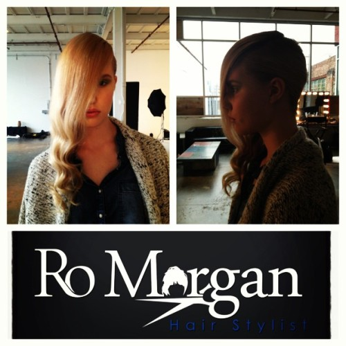 …It's a wrap!!! #romorgan #hair #beauty #photoshoot #behindthescenes #fashion #editorial #startedfromthebotton #picstitch #hairstylist #nyc