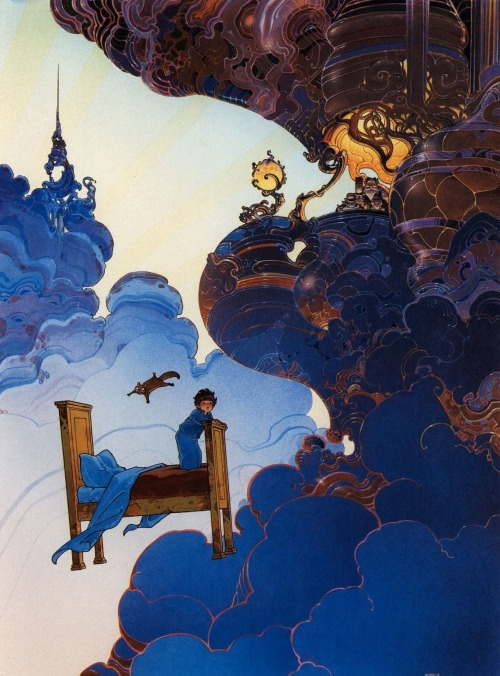 brianmichaelbendis:  Little Nemo in Slumberland by Moebi