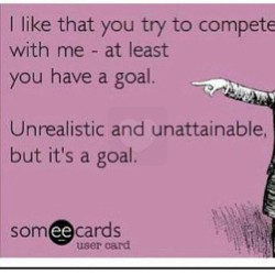 #truth Everyone needs a goal