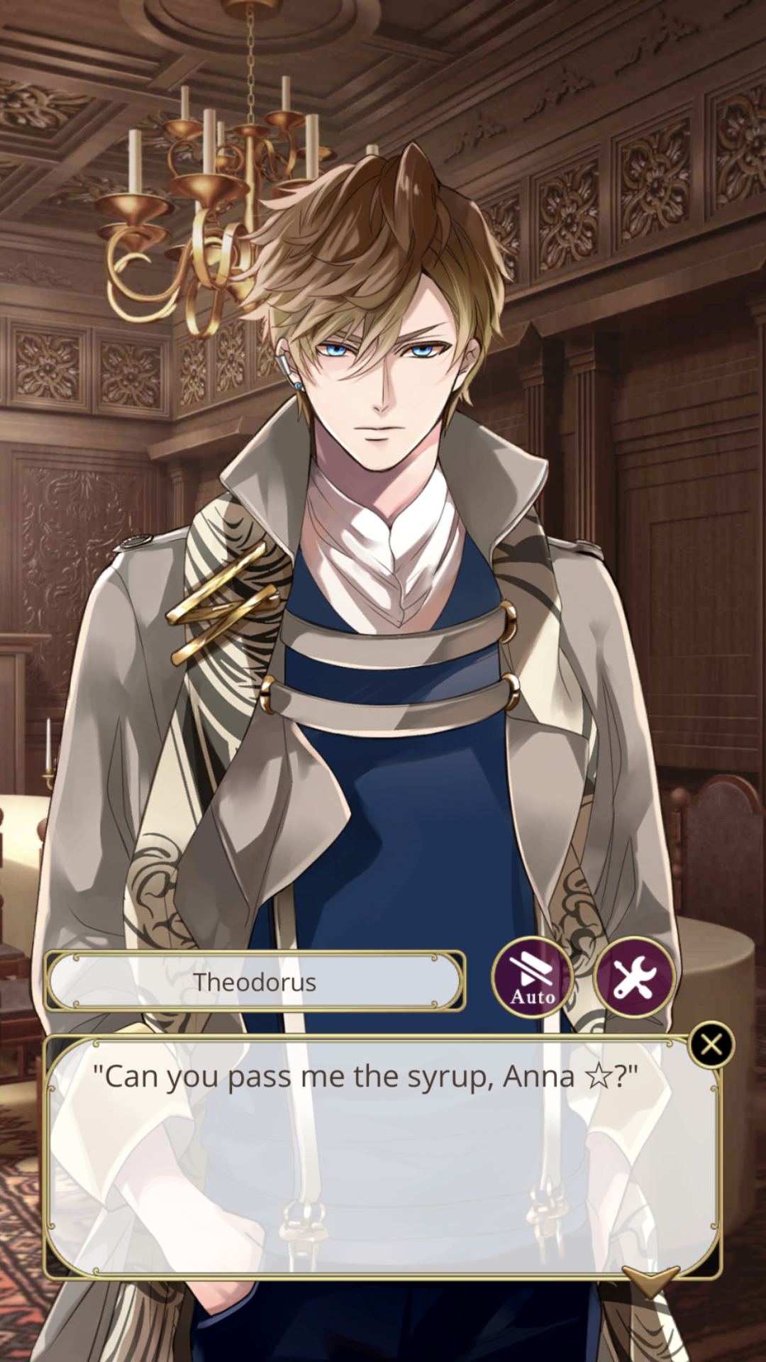 look at arthur eyeing them. someone's feeling things! (≖‿≖)✧ #ikemen vampire#ikevam#theos route #theodorus van gogh  #arthur conan doyle #isaac newton #leonardo da vinci #crispyapple screencaps